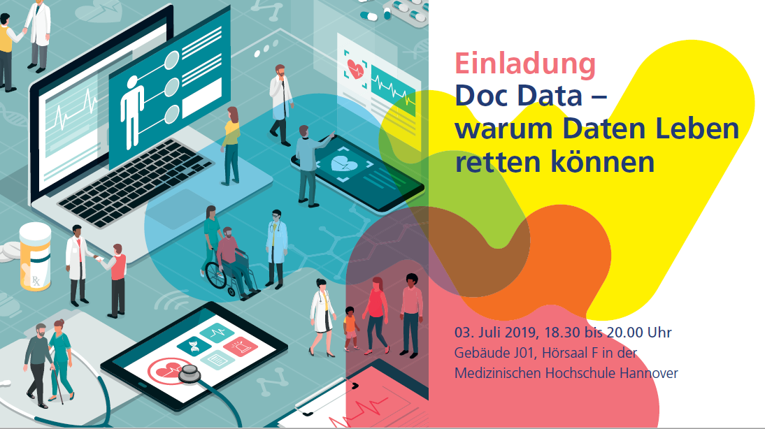 Einladung: Doc Data - Warum Daten Leben retten können